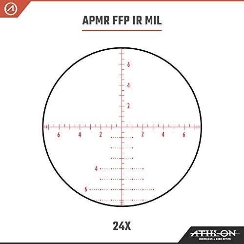 Athlon Optics Rifle Scope 5 Athlon Optics Helos BTR 6-24x50 First Focal Plane Riflescopes