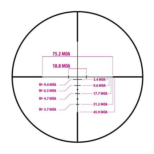 Monstrum Rifle Scope 4 Monstrum Stealth Series 3x32 Rifle Scope (Black)