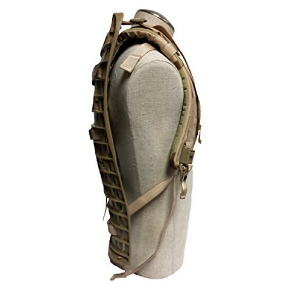 BAE SYSTEMS SPECIALITY DEFENSE SYSTEMS OF PENNSYLVANIA INC Tactical Backpack 4 BAE SYSTEMS SPECIALITY DEFENSE SYSTEMS OF PENNSYLVANIA INC USGI ACU Army Molle II Shoulder Straps (Frame) - Desert Camouflage