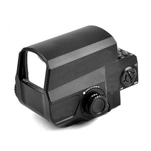 UELEGANS Rifle Scope 1 UELEGANS Red Dot Sight 8 Brightness Settings Rifle Scope with 20mm/22mm Weaver/Picatinny Rail Mount