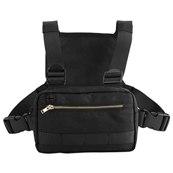 XMSound Tactical Backpack 1 XMSound Outdoor Sports Chest Bag,Tactical Chest Bag, Leisure Running, Riding Running Skateboard Hiking