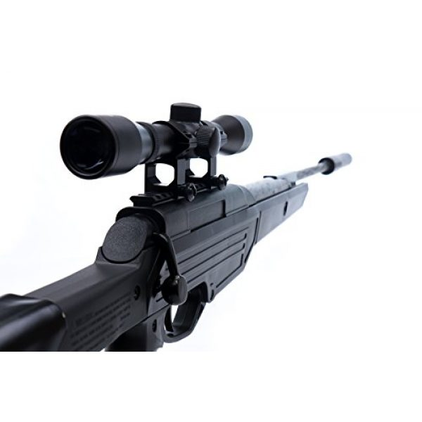 Bear River Air Rifle 2 Bear River TPR 1300 Suppressed Hunting Air Rifle - .177 Airgun - Pellet Gun with Scope and Silencer Included