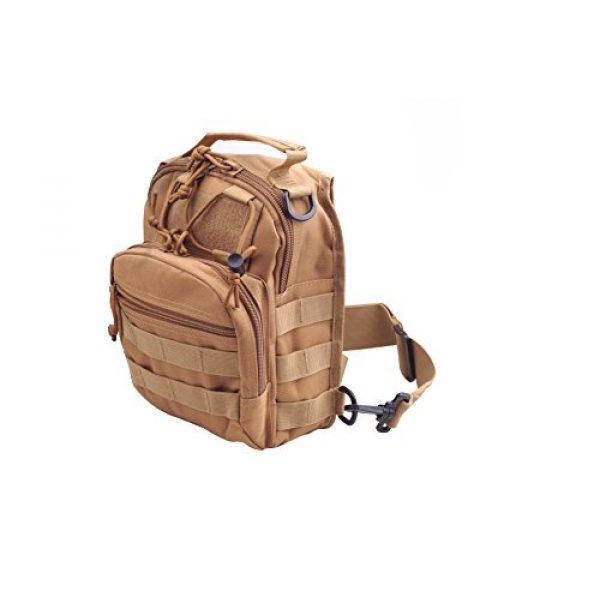 CISNO Tactical Backpack 6 CISNO Outdoor Rucksack Tactical Molle Messenger Assault Sling Shoulder Bag Backpack Pack