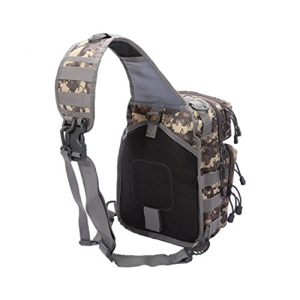 Neasyth Tactical Backpack 5 Neasyth Tactical Sling Bag Backpack Shoulder Chest Bag Outdoor Travel Hiking for Men