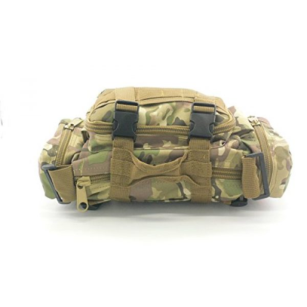 Acme Approved Tactical Backpack 4 Acme Approved Durable 600D Waterproof Fablic Utility 3P Military Tactical Duffle Waist Bags (CP Camo)
