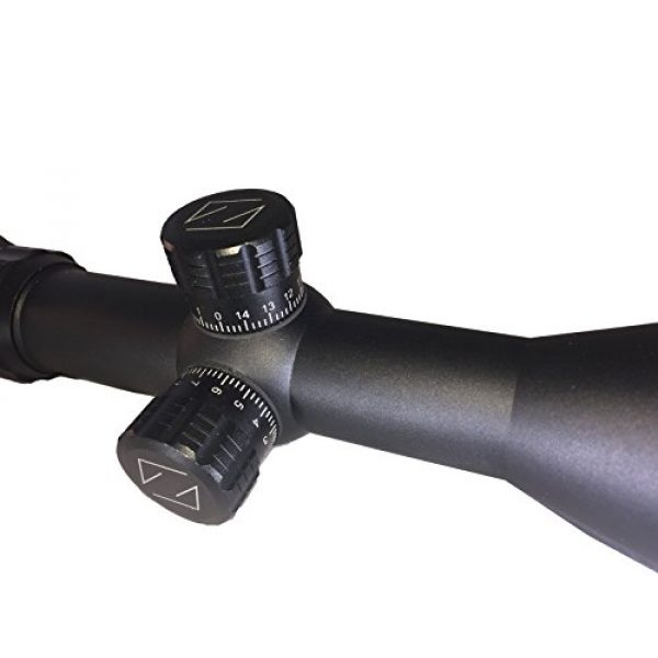 SG Sportsman's Gear Rifle Scope 4 SG Tactical 2.5-10X56E Rifle Scope with Red and Green Illuminated Crosshair and 56mm Objective Tube