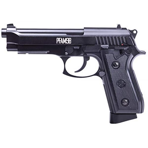 Crosman Air Pistol 2 Crosman PFAM9B CO2-Powered Full Auto Blowback BB Air Pistol,Black