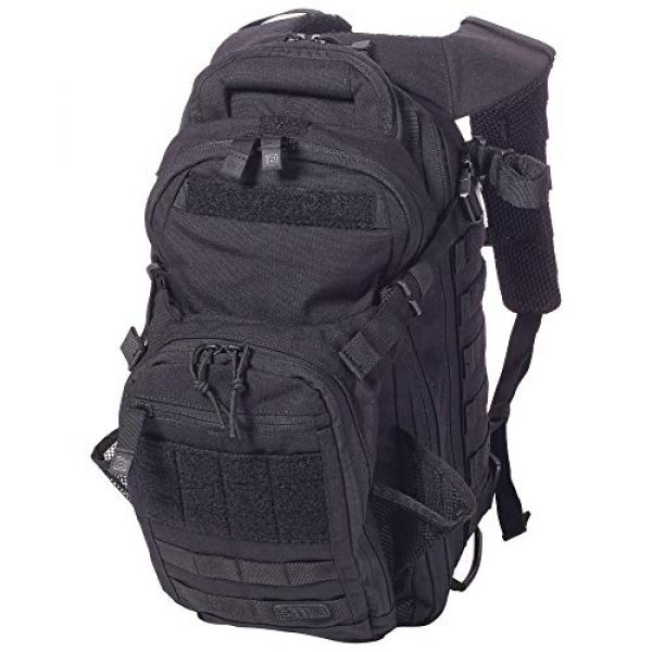 5.11 Tactical Backpack 4 5.11 Tactical All Hazards Nitro Backpack, Nylon, 21-Liter Capacity, Gear Compatible, Style 56167