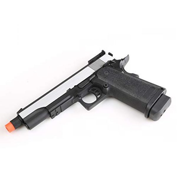 SRC Airsoft Pistol 4 SRC Hi-Capa 5.1 Dual Tone Co2 Airsoft Pistol Matte Finish [Airsoft Blowback]