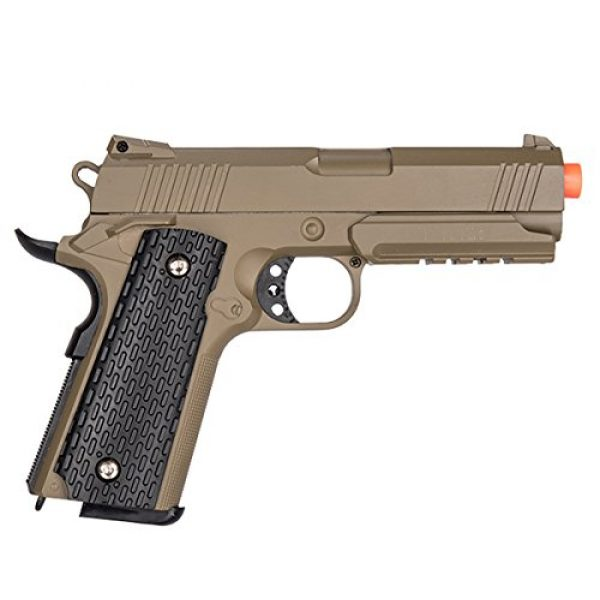 UKARMS Airsoft Pistol 2 UKARMS G25D 1:1 Scale Metal Spring Airsoft Gun - Tactical Pistol (Desert)
