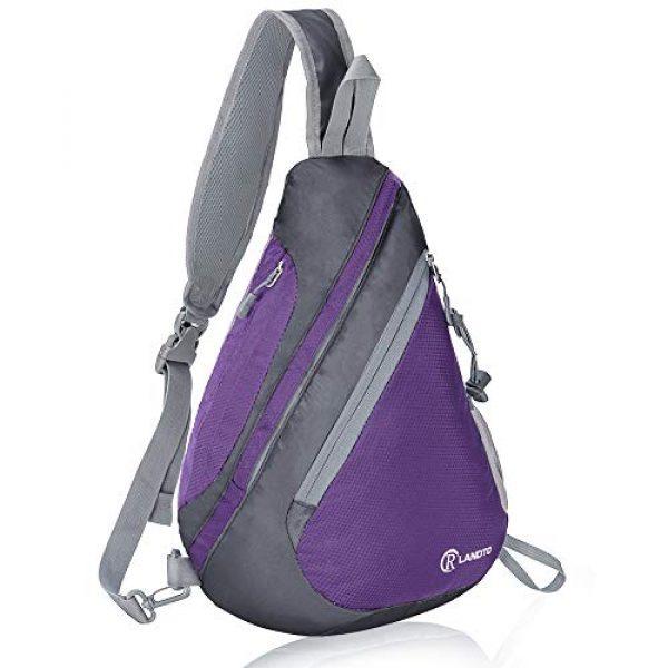 ZOMAKE Tactical Backpack 1 Sling Bag Backpack, Water Resistant Shoulder Backpack Crossbody Bags Daypack