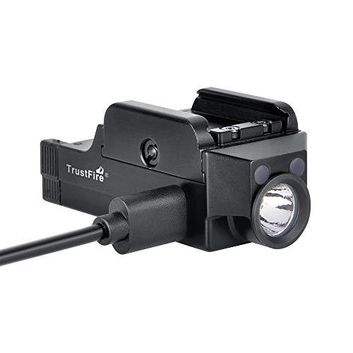 Acid Tactical Weapon Light 4 Pistol Flashlight Compact Handgun Tactical Flashlight 510 Lumens Rechargeable
