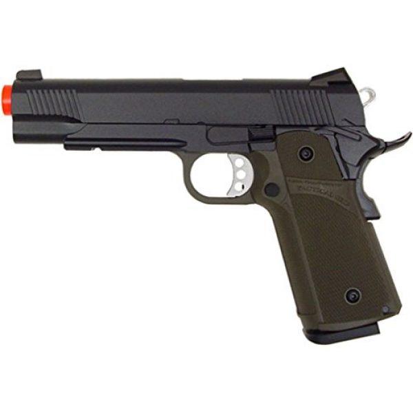 KJW Airsoft Pistol 2 gbb-615g - KJW full metal semi auto gas blowback pistol with free target trip tent(Airsoft Gun)