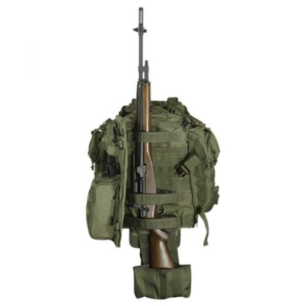VooDoo Tactical Tactical Backpack 2 VOODOO TACTICAL 15-0029 Praetorian Rifle Pack, Holds Your Gun and Gear