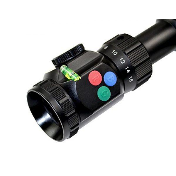 Presma Rifle Scope 5 PRESMA 4-16X50AOL Precision Rifle Scope with Illuminated Red, Green, Blue RXR Reticle, AO Adjustment