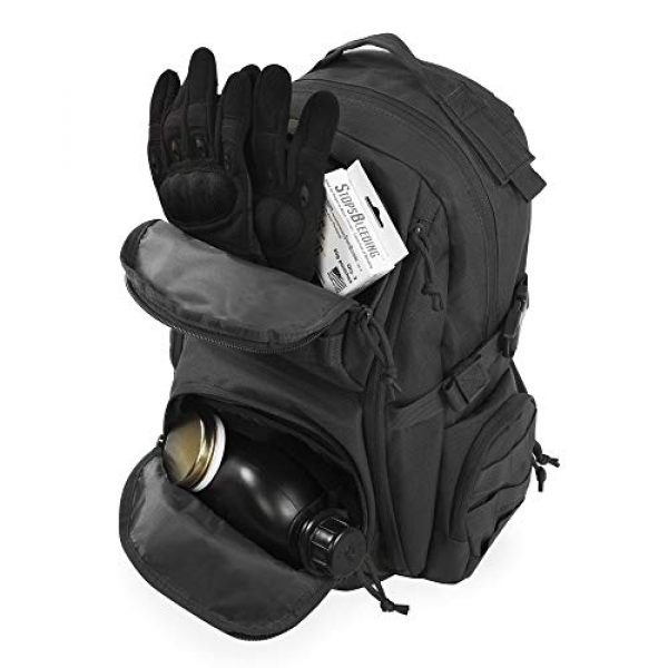 HIGHLAND TACTICAL Tactical Backpack 3 Crusher Tactical Backpack