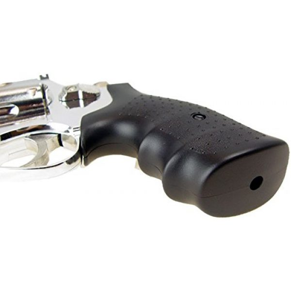 HFC Airsoft Pistol 3 HFC model-132 4 revolver a2 silver by hfc(Airsoft Gun)