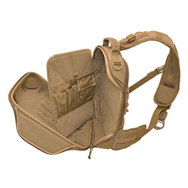 HAZARD 4 Tactical Backpack 5 Hazard 4 Hibachi: Light Shell Sling-Pack - Black