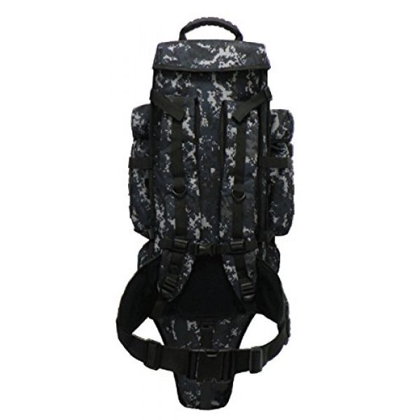 East West U.S.A Tactical Backpack 3 East West U.S.A Tactical Assault Rifle Backpack, Molle Webbing, Take Your Gun and Gear Anywhere, RT538/RTC538
