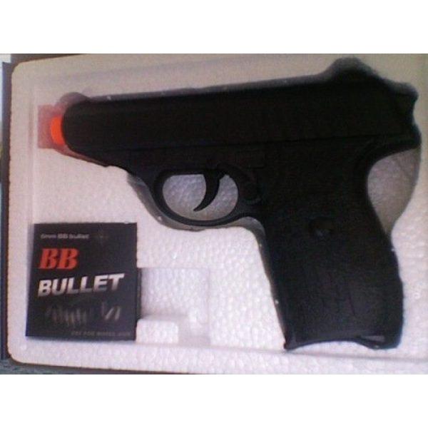 "Fitness Airsoft Pistol 3 Exercise Gear, Fitness, G3 Heavy Metal Airsoft Pistol Gun 6"" Long Shape UP, Sport, Training"