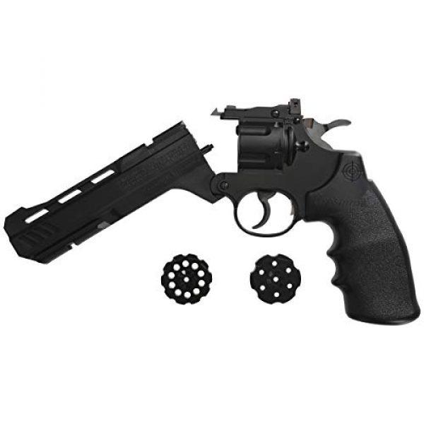 Crosman Air Pistol 3 Crosman CR357 Revolver .177 Caliber CO2 Air Pistol, 465fps