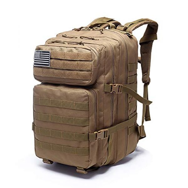 MilSurplus Tactical Backpack 1 Military Tactical Backpack for Men 40L Large Hiking Rucksack Pack Army Molle Bag for Hunting Travel Camping School
