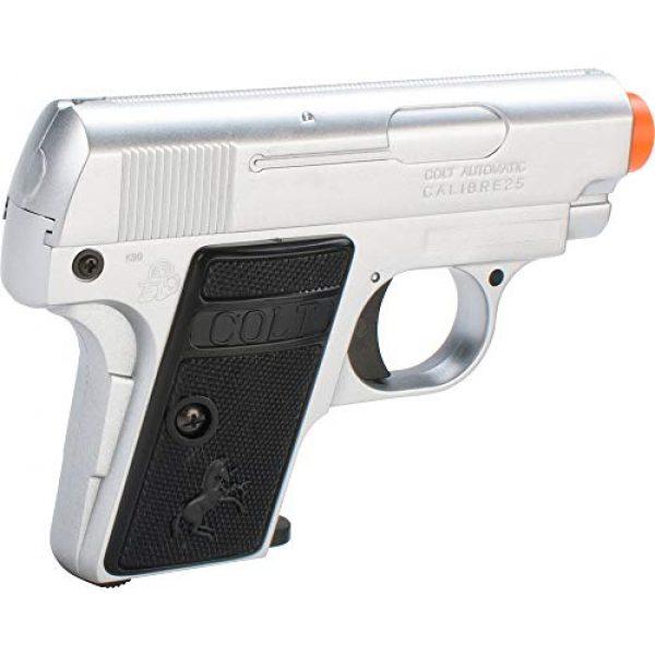 CyberGun Airsoft Pistol 2 Colt 25 Silver airsoft gun