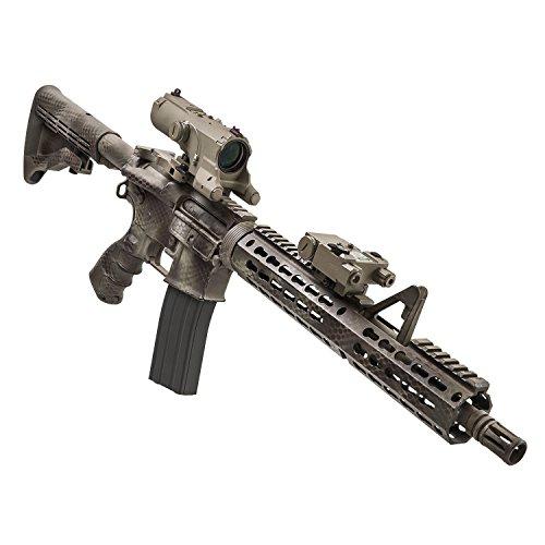 VISM Rifle Scope 3 Vism Eco Mod3 4X Magnification 34mm Scope, Black