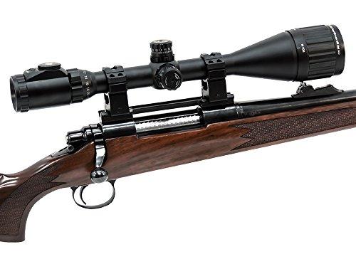 """UTG Rifle Scope 2 UTG 6-24X50 1"""" Hunter Scope, AO, 36-color Mil-dot, w/ Rings"""
