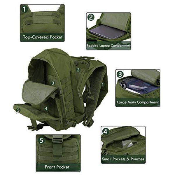 T1FE 1SFE Tactical Backpack 4 T1FE 1SFE Tactical Military Backpack Molle Backpack 35L Tactical Survival Bag Bugout Assault Pack Laptop Rucksack