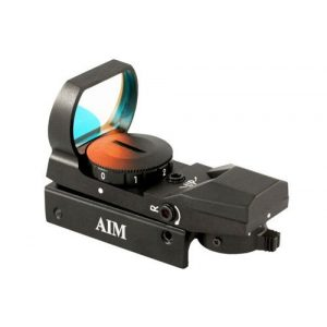 Aim Sports Rifle Scope 1 AIM Sports Red Dot Sight w/ 4 Different Reticles RT4-01