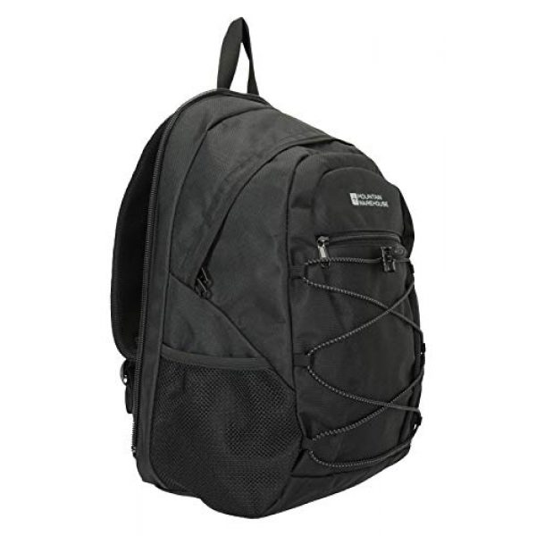 Mountain Warehouse Tactical Backpack 3 Mountain Warehouse Traveller 60 + 20L Travel Backpack - for Camping, Outdoor Rucksack with Detachable Daypack Black Women's Fit