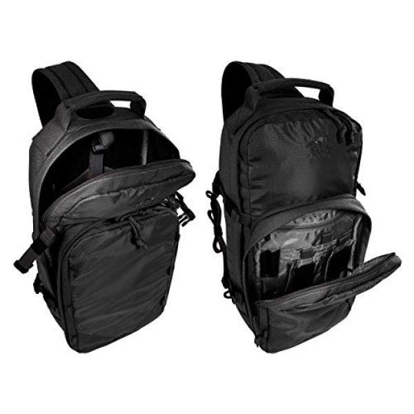 Tasmanian Tiger Tactical Backpack 4 Tasmanian Tiger TAC Sling Pack 12, Tactical Sling Bag with MOLLE, YKK Zippers, Hydration Compatible