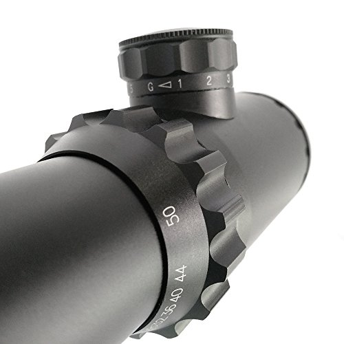 SECOZOOM Rifle Scope 3 SECOZOOM Optics 4-50x75mm Best Long Range Scope for More Than 1000 Yard Scope Shooting with w/ 35mm