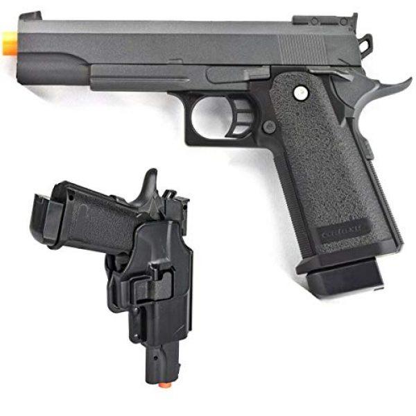 Billybee Airsoft Pistol 1 Billybee Full Size Metal Airsoft Spring Pistol Hand Gun w/Hard Shell Holster 6mm BB BBS