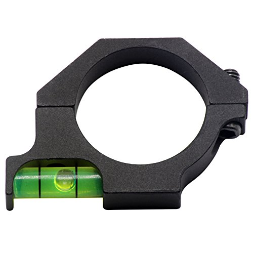 FirstE Rifle Scope Level 4 FirstEOptics Rifle Scope Bubble Level Spirit Level for 25.4mm 1 Inch 30mm Riflescope Laser Sight Tube Ring