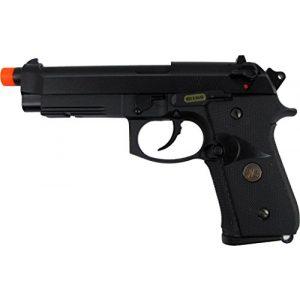 WE Airsoft Pistol 1 WE meu m92 gas/co2 blowback full metal - black(Airsoft Gun)