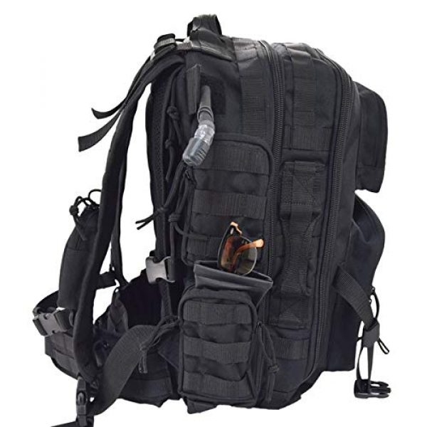 Flying Circle Tactical Backpack 3 Flying Circle Brazos Tactical Backpack