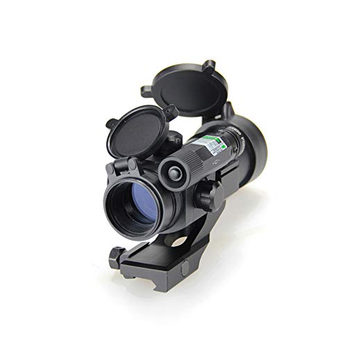 DJym Rifle Scope 3 DJym Blue Film Inside Red Dot Sight, High-Definition Red Dot Fast Sight Waterproofing Anti-Fog Seismic Gift-Level Sight