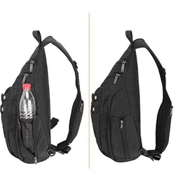 Vanlison Tactical Backpack 4 Vanlison Large Sling Bag Chest Shoulder Bag Purse Backpack Crossbody Bags for Men Women