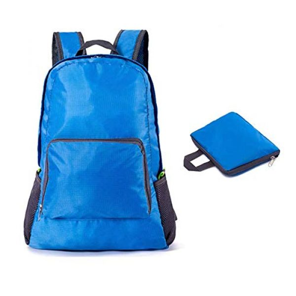 Bidiri Tactical Backpack 1 Bidiri Ultra Light Folding Backpack Waterproof Foldable Daypack Portable Travelling Pack Casual Handy Backpack for Hiking Camping Sports School for Men Women