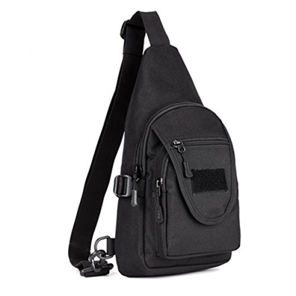 Genda 2Archer Tactical Backpack 1 Genda 2Archer-Protector Plus Small Waterproof Chest bag Sling Backpack, Fits ipad (