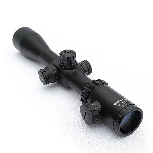 SECOZOOM Rifle Scope 2 Secozoom glass etched mil dot reticle 2-16x44 SF tactical FMC coating zoom riflescopes hunting scope