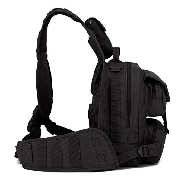 ArcEnCiel Tactical Backpack 3 ArcEnCiel Tactical Sling Pack Military Molle Chest Crossbody Shoulder Bags Motorcycle Backpack