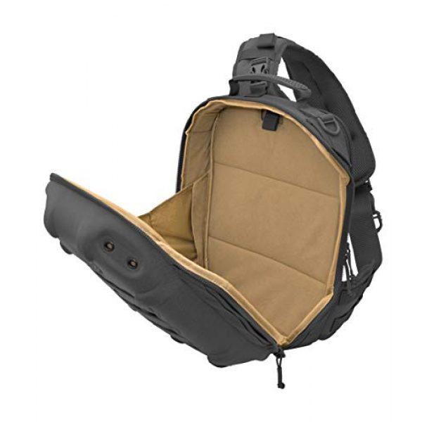 HAZARD 4 Tactical Backpack 3 Hazard 4 Hibachi: Light Shell Sling-Pack - Black