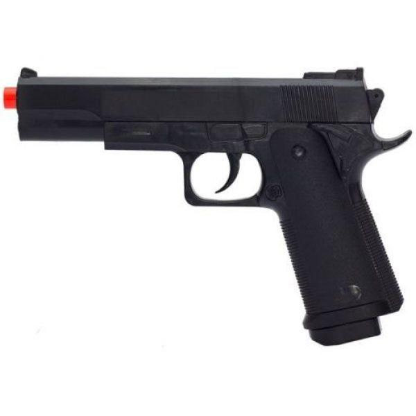 UKARMS Airsoft Pistol 1 UKARMS G153B M1911 Airsoft Spring Pistol Handgun Black 1911