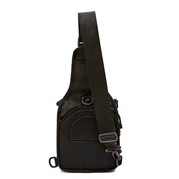 WOLF TACTICAL Tactical Backpack 2 WOLF TACTICAL Compact EDC Sling Bag - Concealed Carry Shoulder Bag for Range, Travel, Hiking, Outdoor Sports