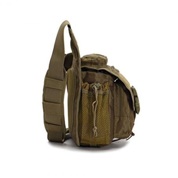 Klau Tactical Backpack 5 Klau Outdoor Sport Military Women and Men's Multi-Functional Tactical Messenger Shoulder Bag