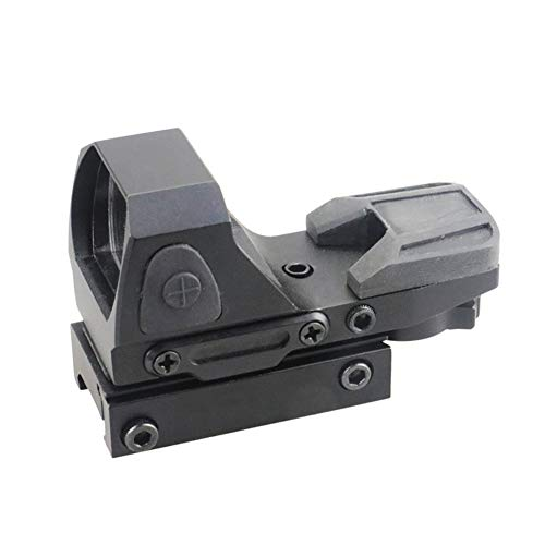 DJym Rifle Scope 6 DJym Button Red Dot Sight, Shockproof Stable Rifle Scope Suitable for Hunting Games