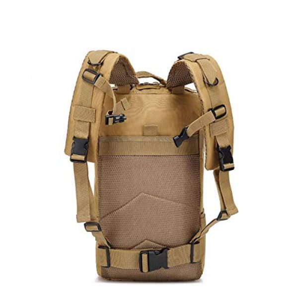 Circadus Tactical Backpack 3 Circadus Military Style Outdoor Hiking Backpack. Compact Tactical Travel Rucksack for Camping, Hunting, Hiking, Trekking, School. Unisex